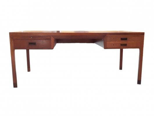 Danish Desk by Ejner Larsen & Aksel Bender Madsen for Willy Beck, 1950s