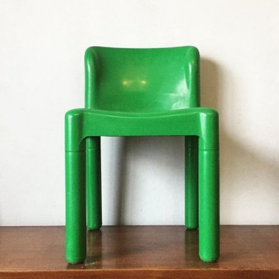 Model 4875 dining chair by Carlo Bartoli for Kartell, 1970s