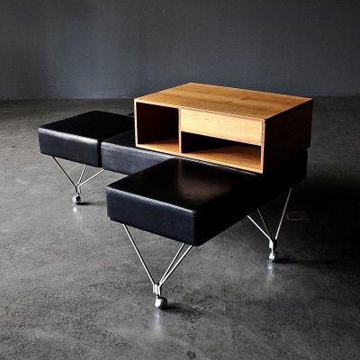 Limited edition 1991 Triposto bench by Gio Ponti for Tecno