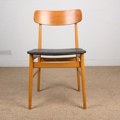 Set of 4 Swedish Dining Chairs for Tibro, 1960s