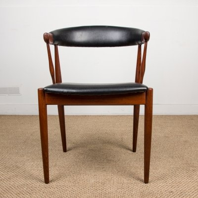 Set of 8 Danish Teak Chairs by Johannes Andersen for Broderna, 1960s