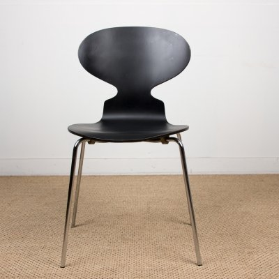 Set of 5 'Ant' chairs by Arne Jacobsen for Fritz Hansen, 1986