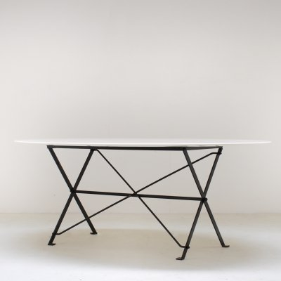 Cavalletto dining table by Luigi Caccia Dominioni for Azucena Italy, ca. 1960