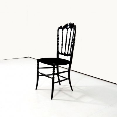 Decorative 'Chiavari' chair designed in the early 19th Century