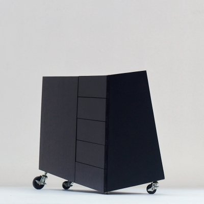 1982 'Wil Toro' cabinet by Mireille Rivier & Paolo Pallucco