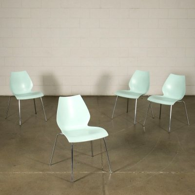 Set of 'Maui' Chairs by Vico Magistretti for Kartell