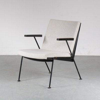 Oase lounge chair by Wim Rietveld for Gispen, 1950s