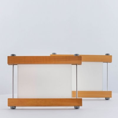 Set of picture frames in birchwood by Kuno Prey for Twergi/Alessi