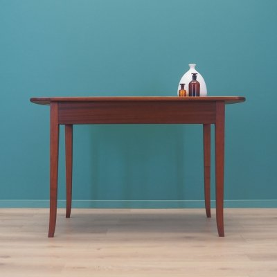 Mahogany table, Denmark 1970s