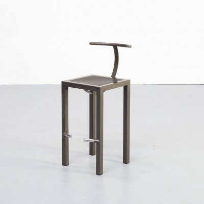 80s Philippe Starck 'Sarapis' Bar Stool for Driade