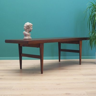 Rosewood coffee table, Denmark 70s