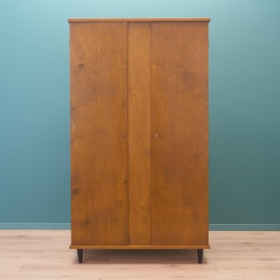 Walnut wardrobe, Denmark 1960s