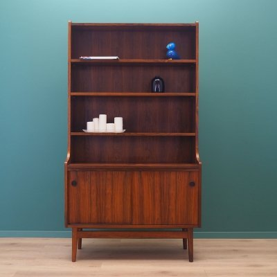 Rosewood bookcase by Johannes Sorth for Bornholm Møbler, 1960s