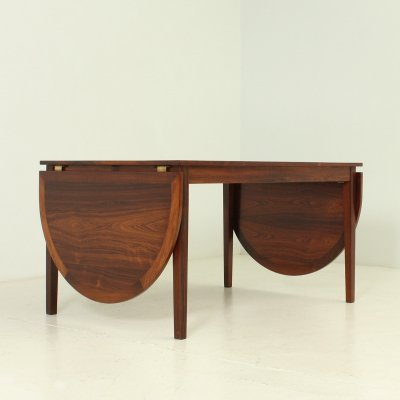 Exceptional Rio Rosewood Dining Table by Kai Winding