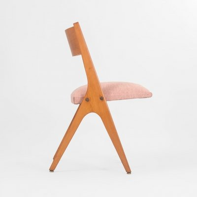 Mid Century boomerang chair, France 1960's