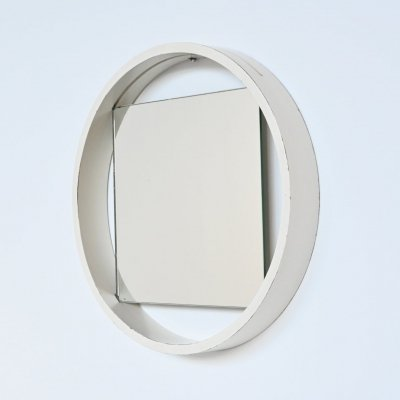 Benno Premsela white DZ84 mirror by 't Spectrum, The Netherlands 1956
