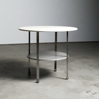 Modernist 1930s table by Penaat for Metz &Co
