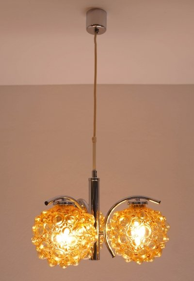 Mid-Century Bubble Ceiling Light, 1970s