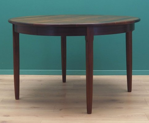 Rosewood table, Danish design 1960s