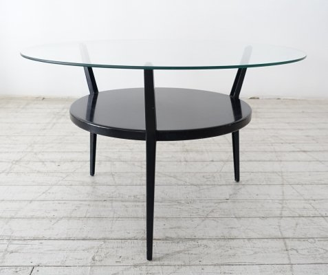 Rare rotonde coffee table by Friso Kramer for Ahrend de Cirkel, 1950s