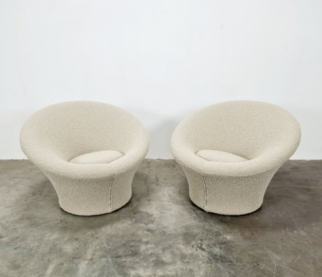Set of 2 Mushroom chairs by Pierre Paulin for Artifort, 1960s