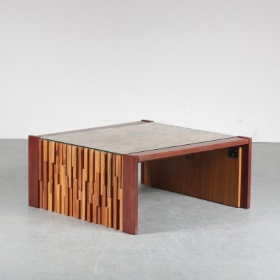 Percival Lafer Coffee Table, Brazil 1960