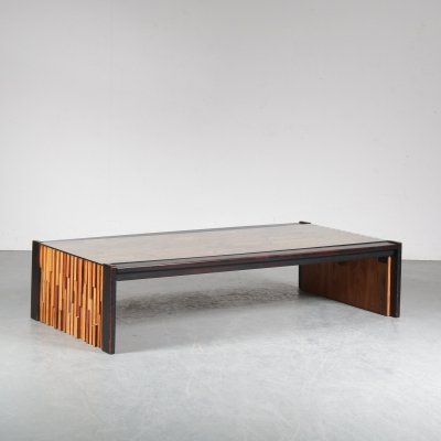 Percival Lafer Rectangular Coffee Table, Brazil 1960