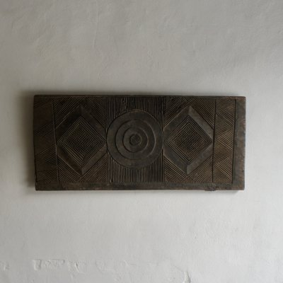 Igbo Carved Wood Wall Hanging, 1950s
