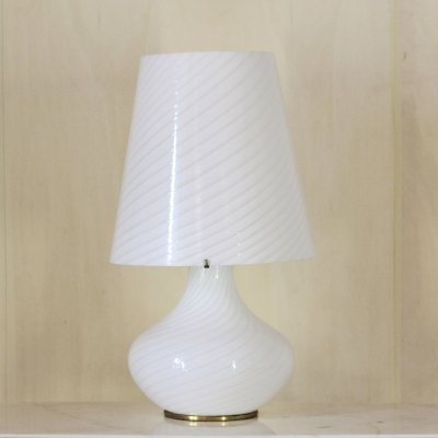 1970s vintage Murano table lamp by Modaluce