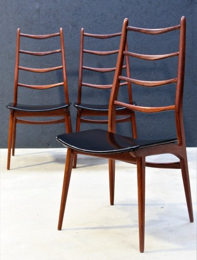 Set of 3 Habeo dining chairs, 1960s