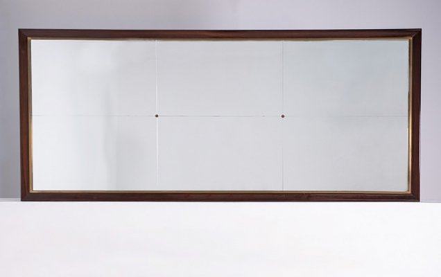 Italian Rectangular Wall Mirror, 1950s