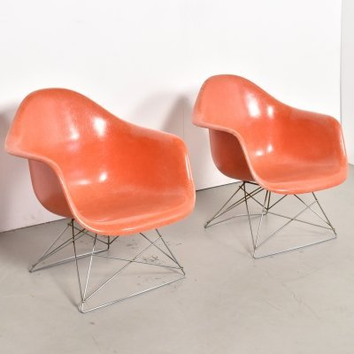 Pair of LAR lounge chairs by Charles & Ray Eames for Herman Miller, 1950s