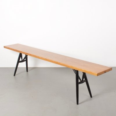 Pirrka Bench by Ilmari Tapiovaara for Laukaan Puu