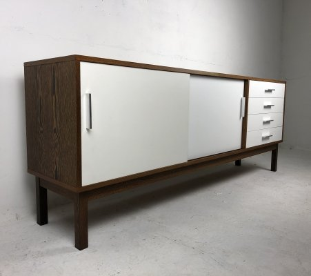 Mid-Century Dutch Wengé Sideboard, 1970s