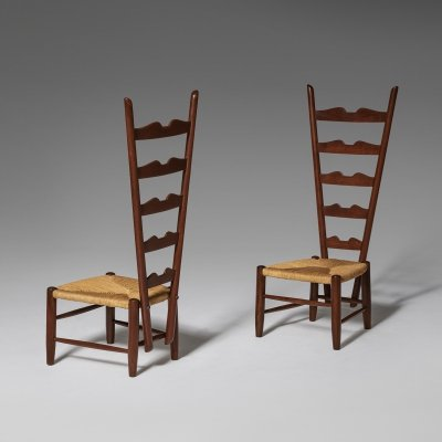 Pair of Fireside chairs by Gio Ponti, ca 1939