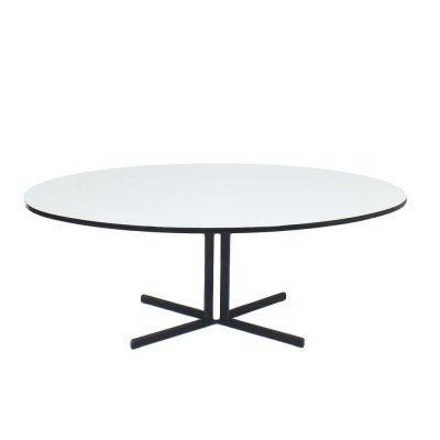Oval dining table by H. Salomonson for AP Originals, 1950s