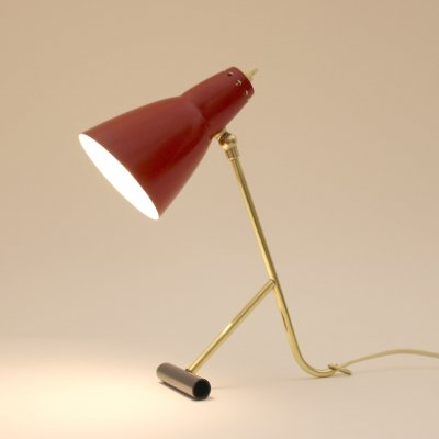 Swiss desk lamp, 1950s