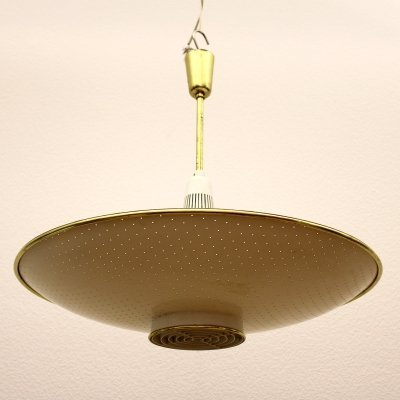 BAG Turgi Ceiling lamp, Switzerland 1950s