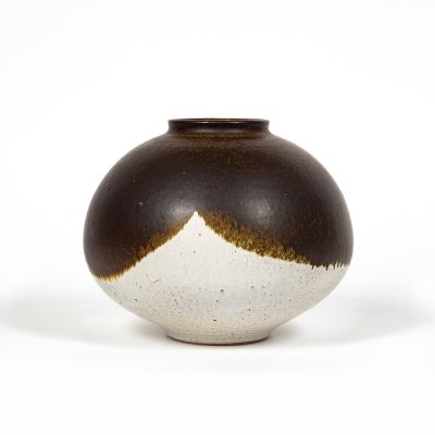 Ceramic vase by Edouard Chapallaz for Studio Chapallaz Duillier, 1970s