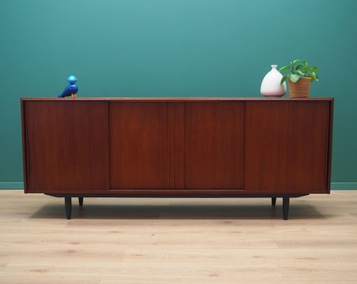 Teak sideboard by E. W. Bach, Danish design 1970s