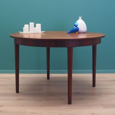 Rosewood table, Danish design 60s