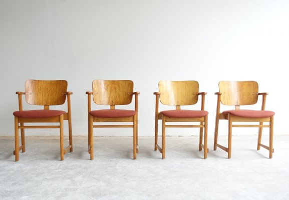 First edition 'Domus' dining chairs by Ilmari Tapiovaara