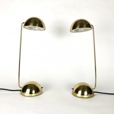 Pair of Minikini desk lamps by Raul Barbieri & Giorgio Marianelli for Tronconi, 1980s