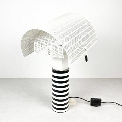Shogun table lamp by Mario Botta for Artemide, 1980s