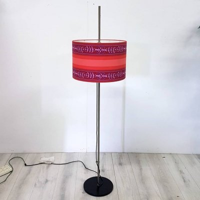 Mid century floor lamp with adjustable shade, 1960s