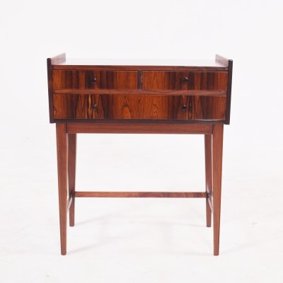 Mid Century Danish Rosewood Bedside Table