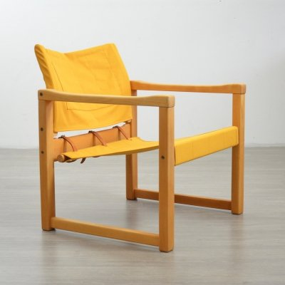 Mid Century 'Diana' Safari Chair by Karin Mobring for IKEA, 1970s