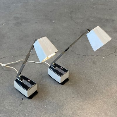 Set of 2 'Solo' desk lamps by H. Bødtcher Hansen, Denmark 1960s