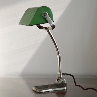British Banker's Desk Lamp, 1930's