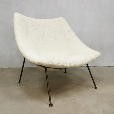 Dutch vintage design Oyster F157 easy chair by Pierre Paulin for Artifort, 1960s